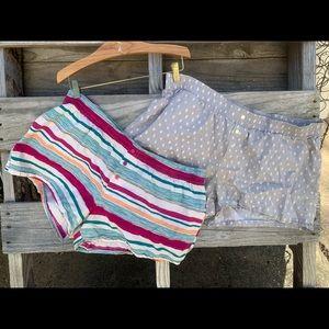 Pair: Gilligan O'Malley sleep shorts